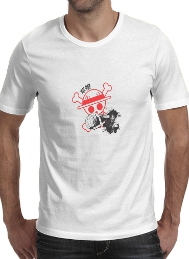 Tshirt Traditional Pirate homme