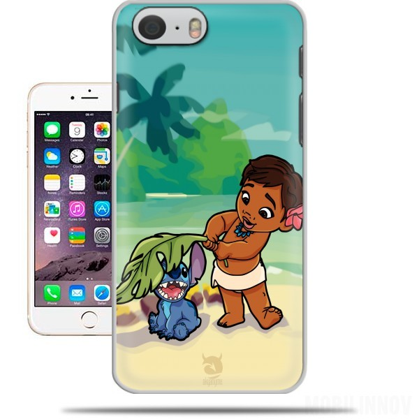 cover Disney Hangover Moana and Stich per Iphone 6 4.7