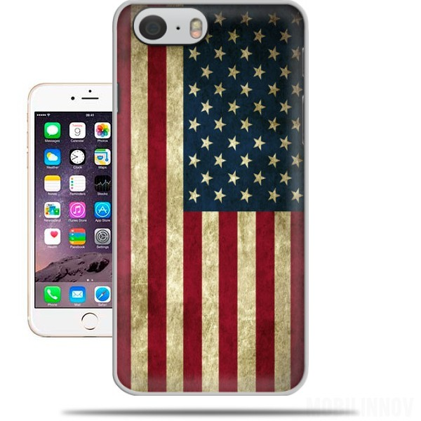 cover Bandiera USA Vintage per Iphone 6 4.7