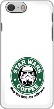 cover Iphone 6 4.7 Stormtrooper Coffee inspired by StarWars