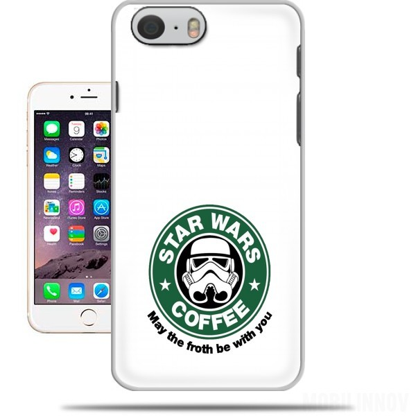 cover Stormtrooper Coffee inspired by StarWars per Iphone 6 4.7