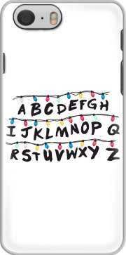 cover Iphone 6 4.7 Stranger Things Guirlande Alphabet Inspiration
