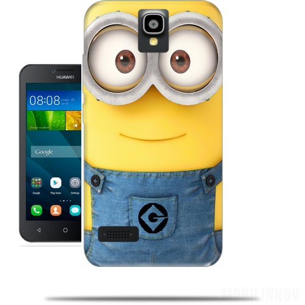 Cover huawei y minions face originale