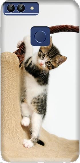 custodia huawei p smart con gatti