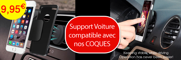 support voiture magnetique