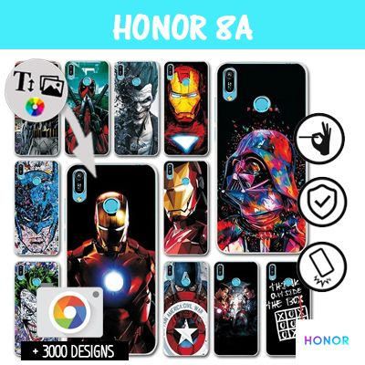 Cover Honor 8A rigida  personalizzata
