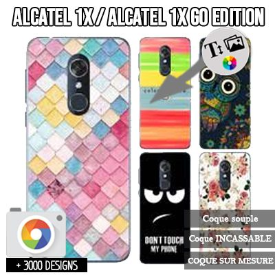 custodia silicone Alcatel 1X