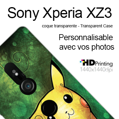 coque personnalisee Sony Xperia XZ3