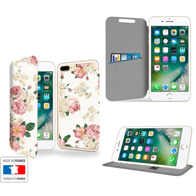 Custodia a libro serie Vili per Apple iPhone 7 Plus e 8 Plus