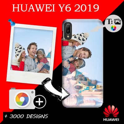 coque personnalisee Huawei Y6 2019
