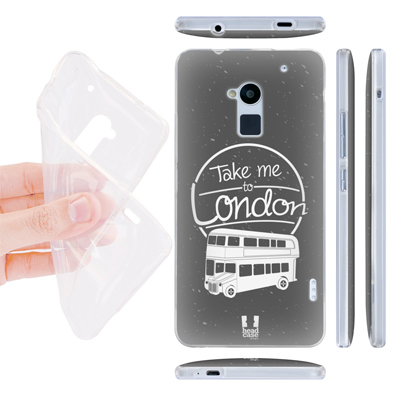 custodia silicone HTC One Max