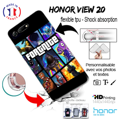 custodia silicone Honor View 20