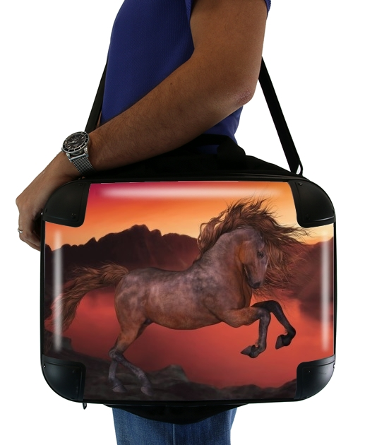 borsa A Horse In The Sunset