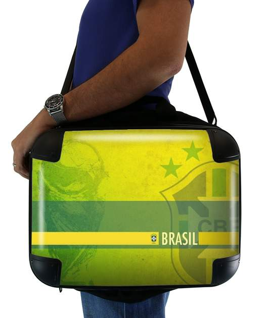 sacoche ordinateur Brazil Selecao Kit Home