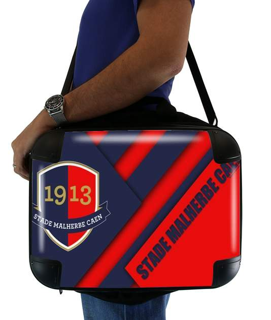 sacoche ordinateur Caen Football Kit Home