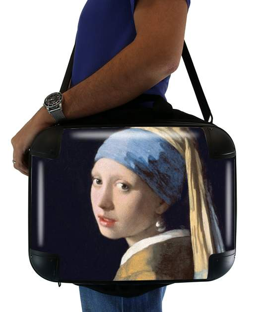 sacoche ordinateur Girl with a Pearl Earring