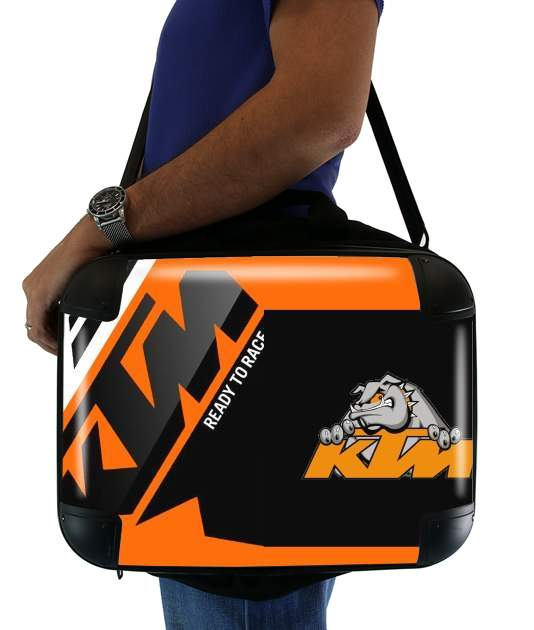 sacoche ordinateur KTM Racing Orange And Black