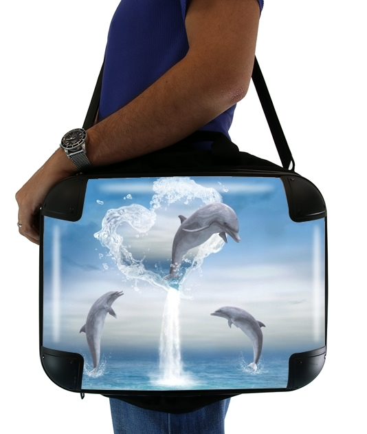 borsa The Heart Of The Dolphins