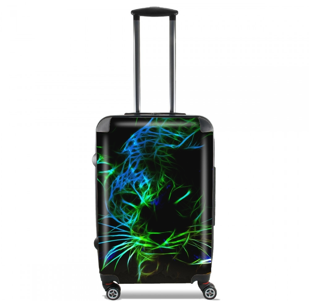 valise Abstract neon Leopard