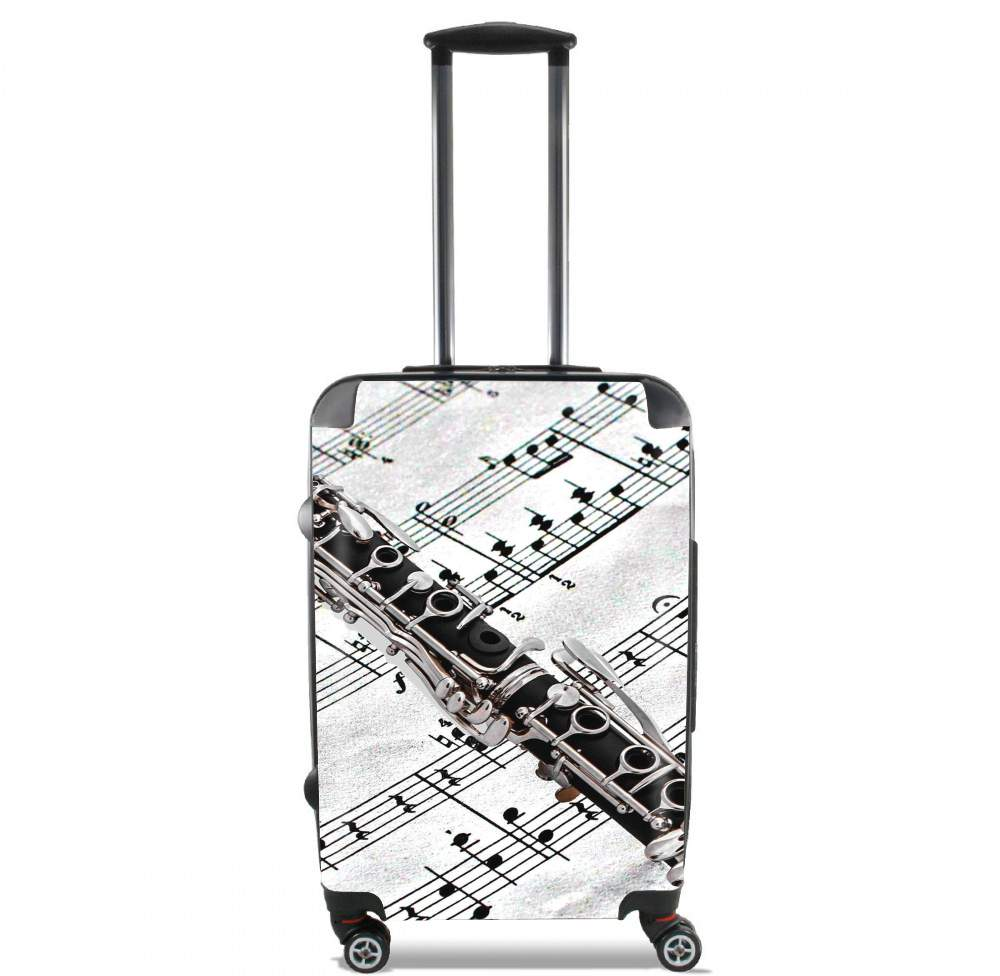 valise Clarinette Musical Notes