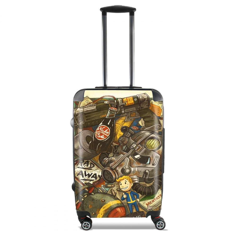 valise Fallout Painting Nuka Coca