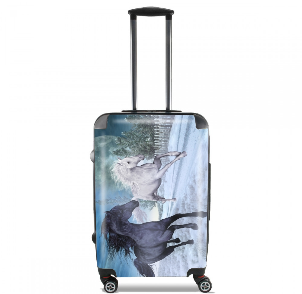 valise Freedom in the snow
