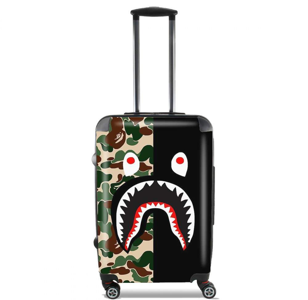 valise Shark Bape Camo Military Bicolor
