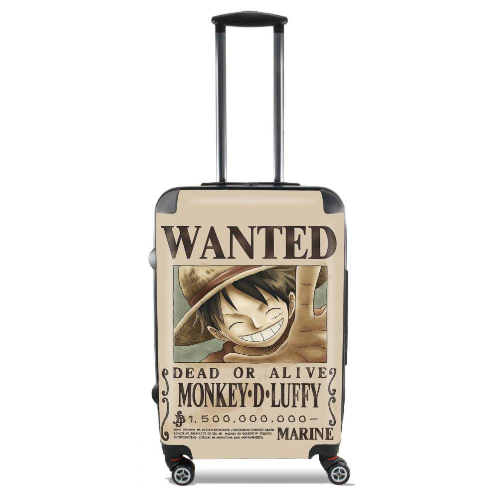 valise Wanted Luffy Pirate